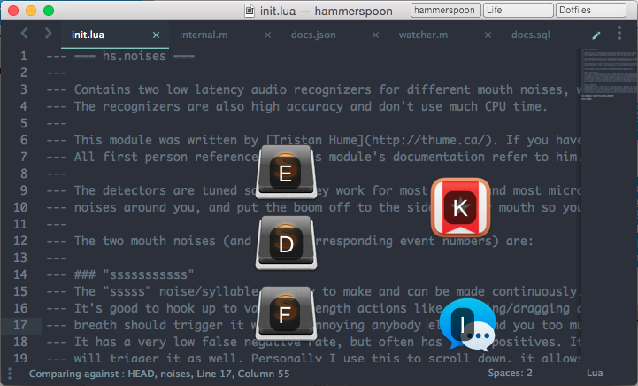 Advanced Hackery With The Hammerspoon Window Manager - Tristan Hume